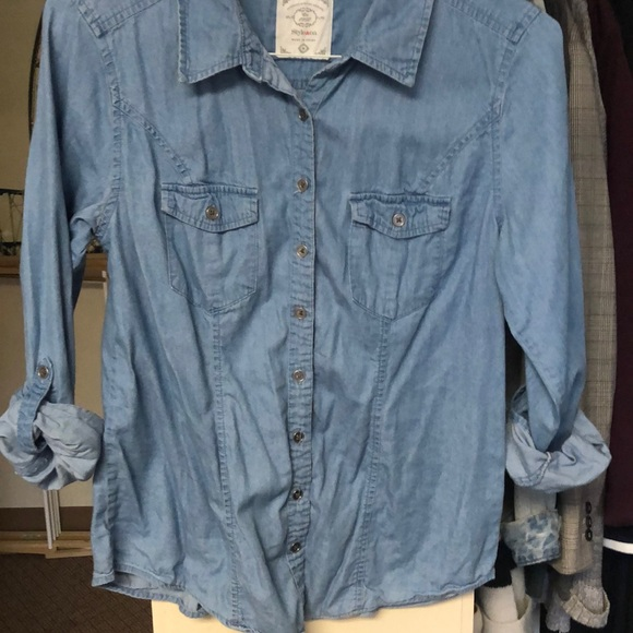 Style & Co Tops - Denim Button Down